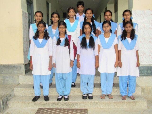 Kinderpatenschaft Azimganji Patenkinder Klasse 10