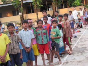 Kinderpatenschaft Azimganji Schulkinder