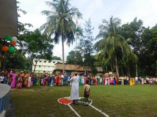 Kinderpatenschaft Bongaon Unabhängigkeitsfeier 1
