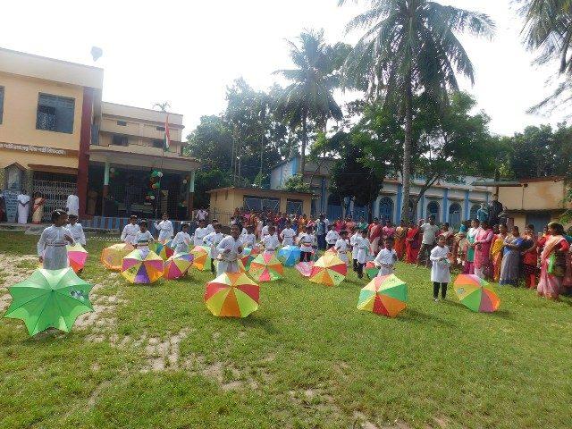 Kinderpatenschaft Bongaon Unabhängigkeitsfeier 2