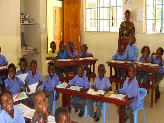 Kinderpatenschaft Bukalo Klassenzimmer 1