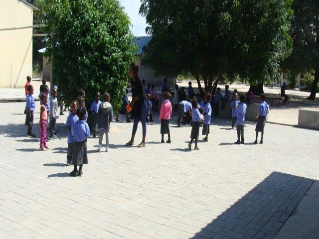 Kinderpatenschaft Bukalo Pause