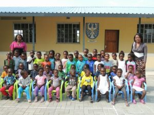 Kinderpatenschaft Bukalo Schulklasse