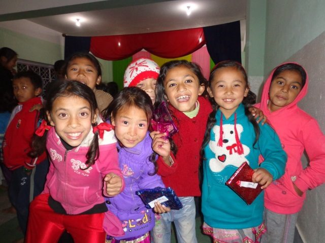Kinderpatenschaft Kathmandu Schulkinder 2