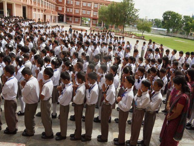 Kinderpatenschaft Kathmandu Schulkinder 5