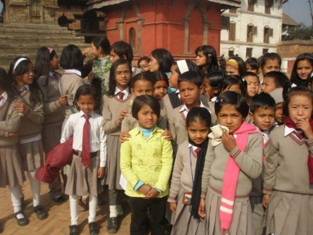 Kinderpatenschaft Kathmandu Schulkinder 6