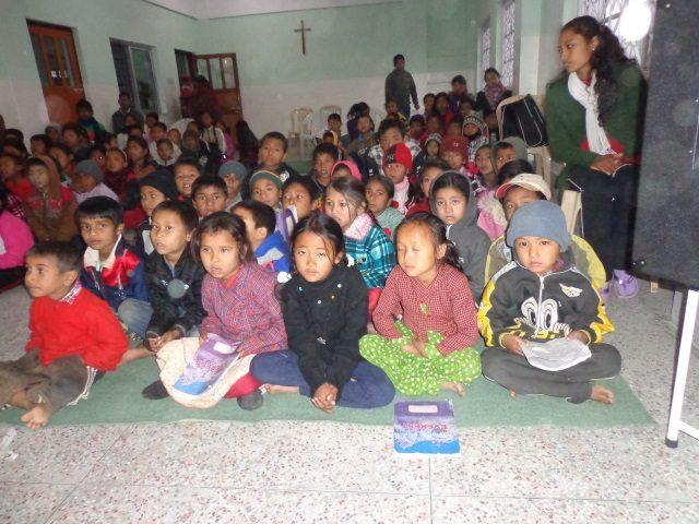 Kinderpatenschaft Kathmandu Schulklasse 2