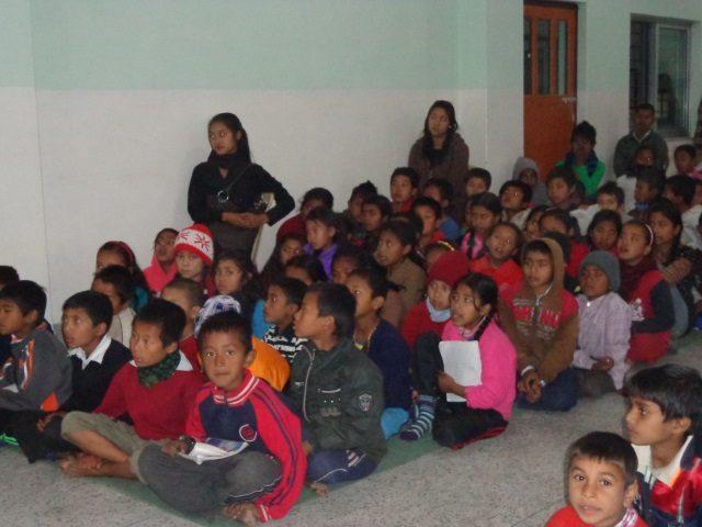 Kinderpatenschaft Kathmandu Schulklasse 3