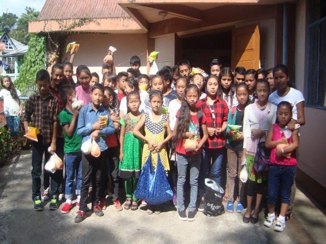 Kinderpatenschaft Sonada Ernährungsprogramm