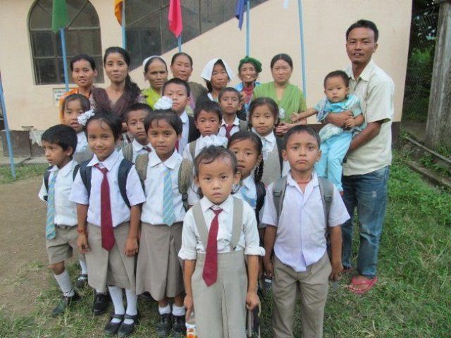 Kinderpatenschaft Sonada Mallot Schulkinder