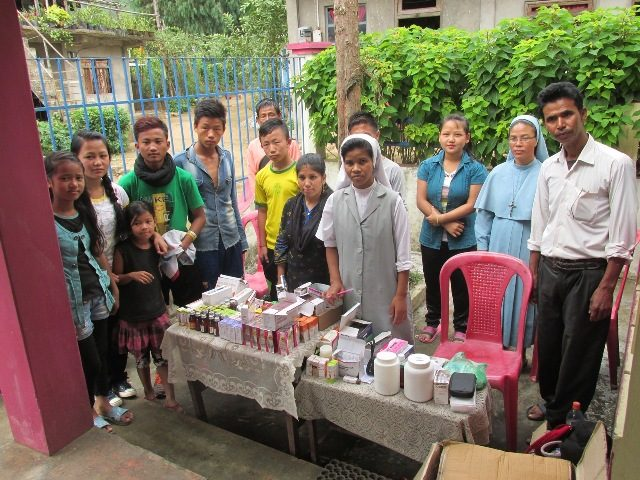 Kinderpatenschaft Sonada Medizincamp
