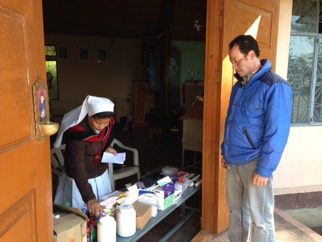 Kinderpatenschaft Sonada Rungmook Medizincamp 1