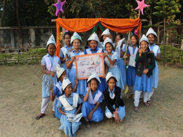 Kinderpatenschaft Utrail Schulfeier