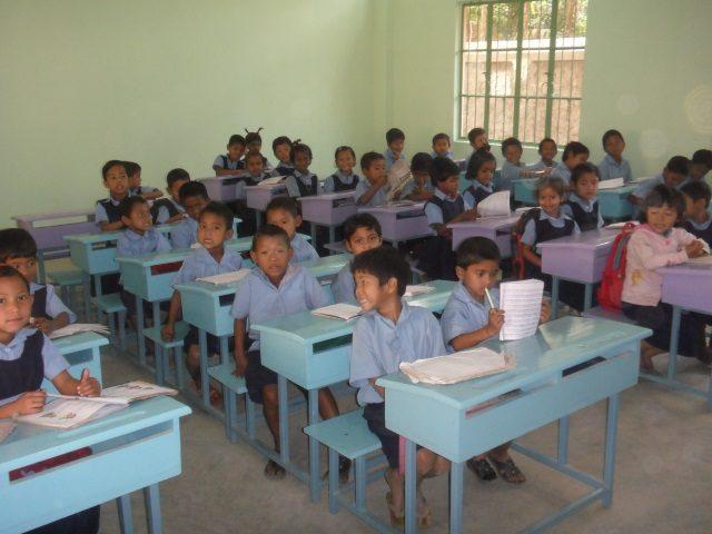 Kinderpatenschaft Utrail Schulklasse 2