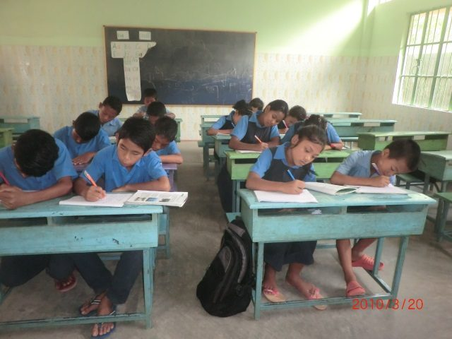 Kinderpatenschaft Utrail Schulklasse 4