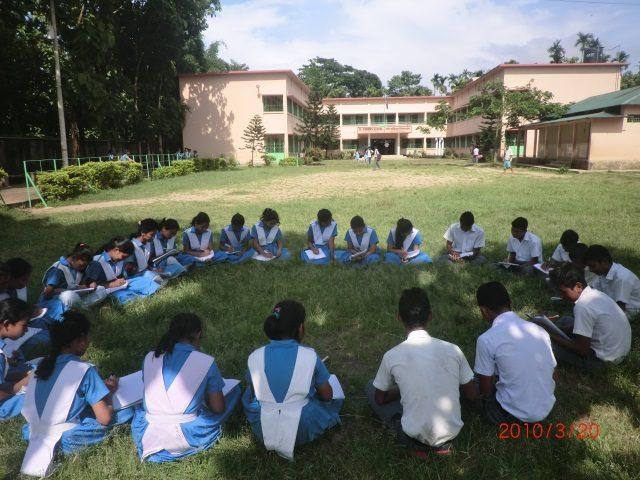 Kinderpatenschaft Utrail lernen im Freien 1