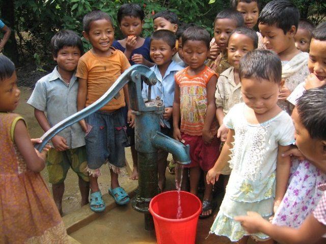 Kinderpatenschaft Utrail neue Brunnen 3