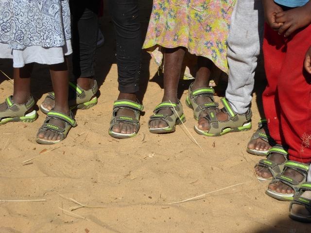 Projekt Omega neue Schuhe 2