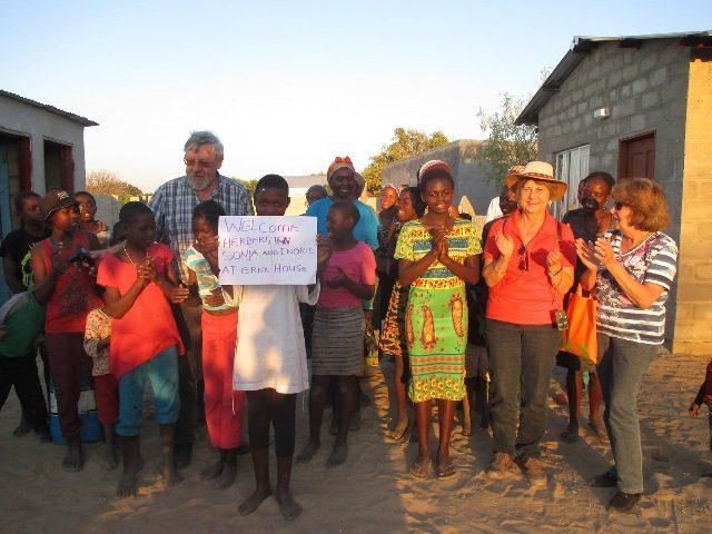 Projekt Rundu Besuch Patenkind