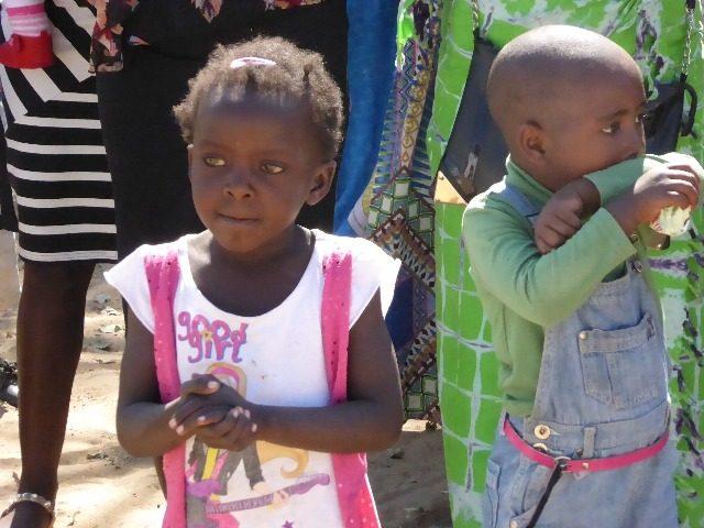 Projekt Rundu Kind voller Erwartung 2
