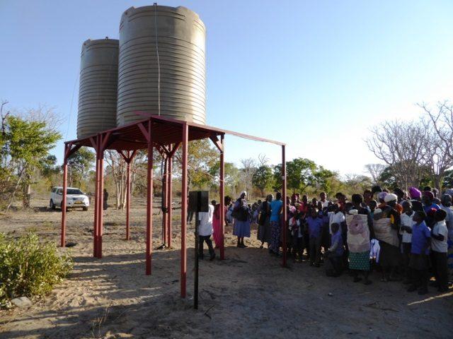Projekt Rundu Sambyu Brunnenbau