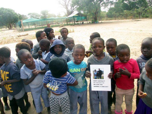 Projekt Rundu Sambyu Geburtstag Sven 2