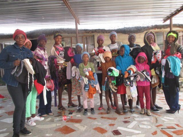 Projekt Rundu Sambyu Hilfslieferungen 1