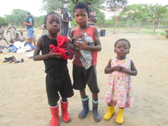 Projekt Rundu Sambyu Hilfslieferungen 2