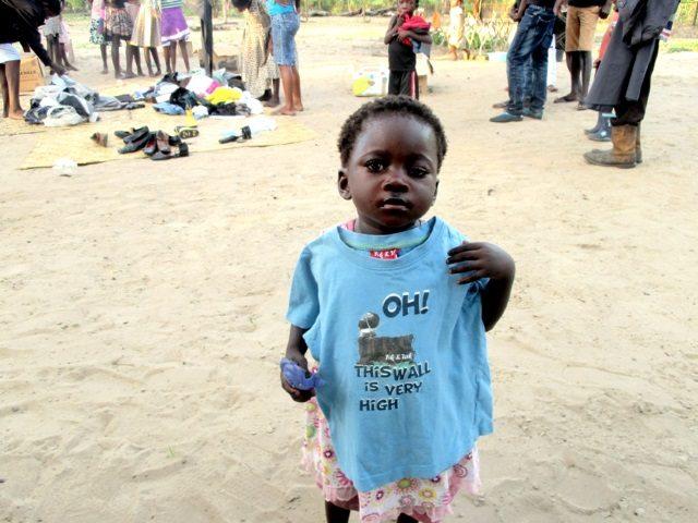 Projekt Rundu Sambyu Hilfslieferungen 3