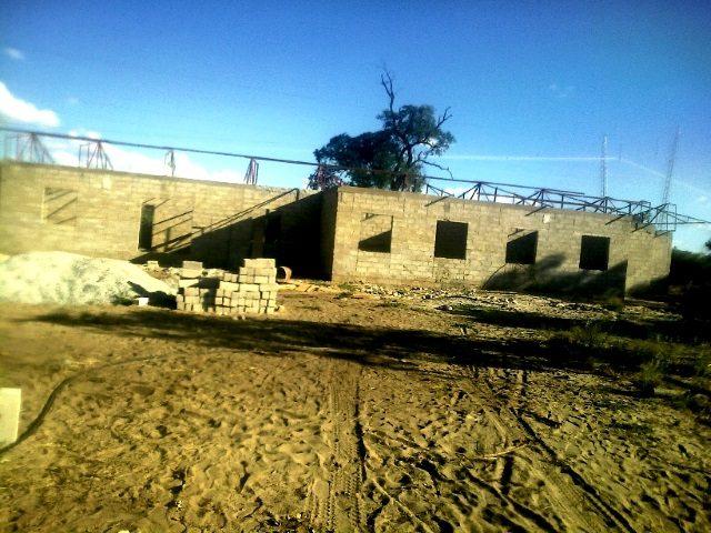 Projekt Rundu Sambyu Kindergarten Bau 1