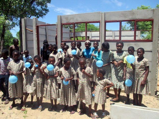 Projekt Rundu Sambyu Kindergarten Bau 2