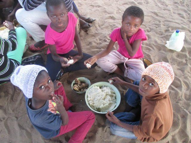 Projekt Rundu Sambyu Kindergarten Essen 2