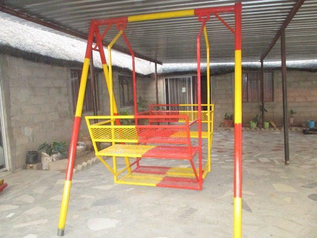 Projekt Rundu Sambyu Kindergarten Spielgeräte 2