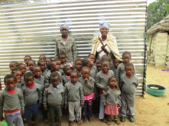 Projekt Rundu Sambyu Kindergartren Kinder 1