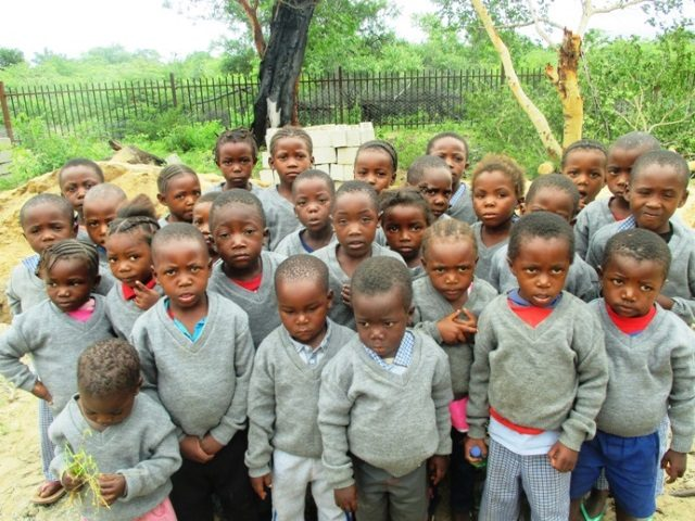 Projekt Rundu Sambyu Kindergartren Kinder 2