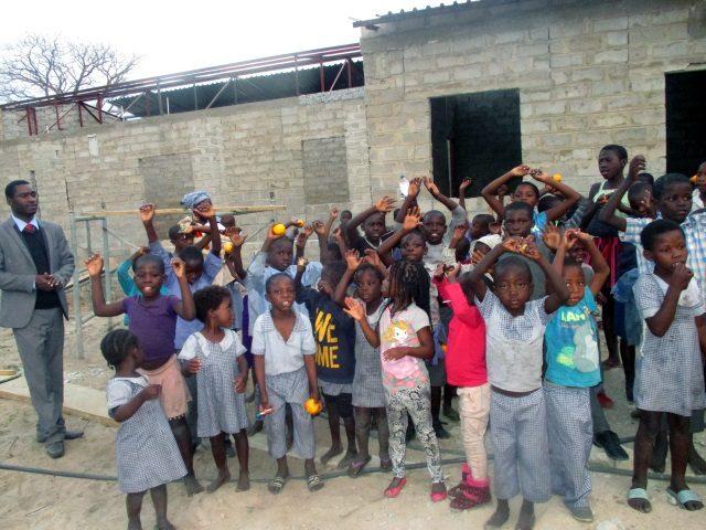 Projekt Rundu Sambyu Kindergartren Kinder 3