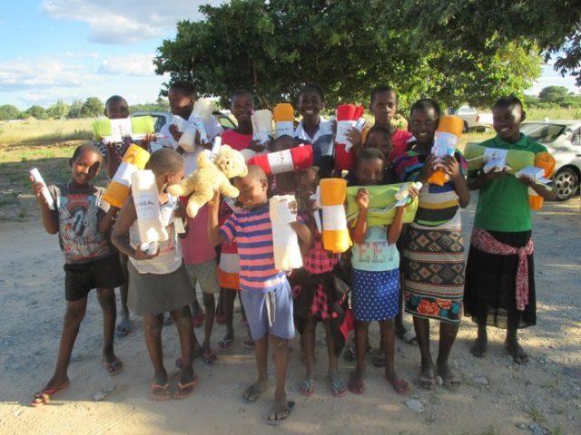 Projekt Rundu Schlafdecken und Hygiene 1
