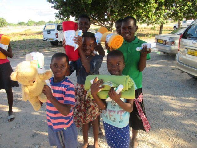 Projekt Rundu Schlafdecken und Hygiene 2