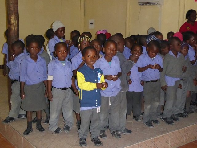 Projekt Rundu Schulkinder 1