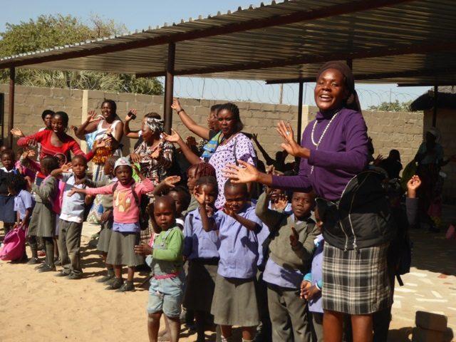Projekt Rundu herzlicher Empfang