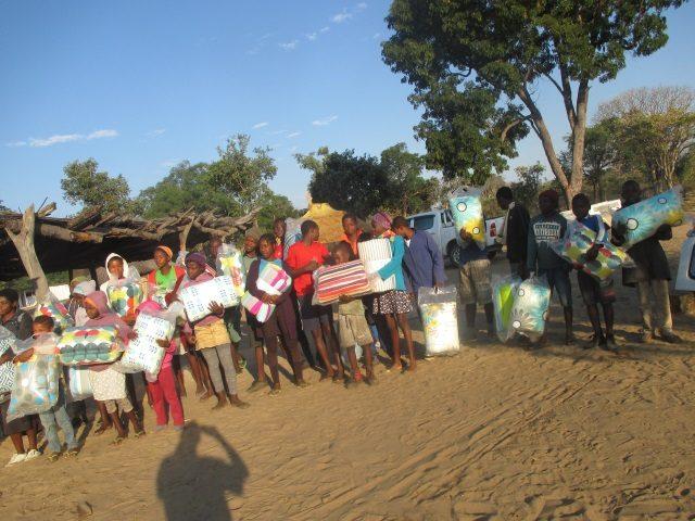 Projekt Rundu neue Lieferung