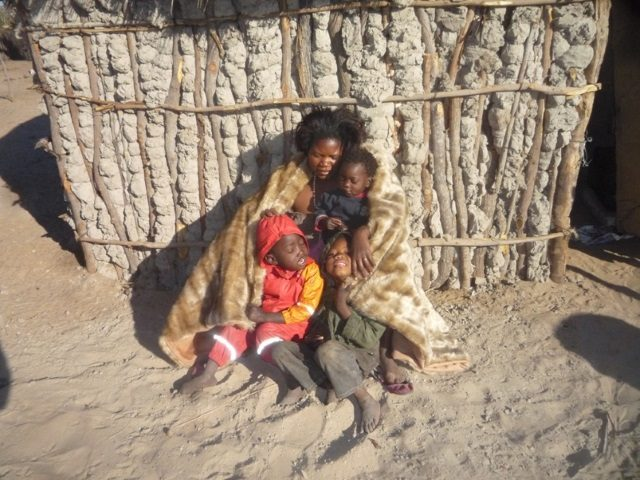 Projekt Rundu warme Winterdecke