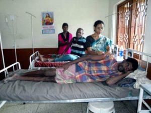 Projektpatenschaft Krankenbett Polsonda More Krankenzimmer
