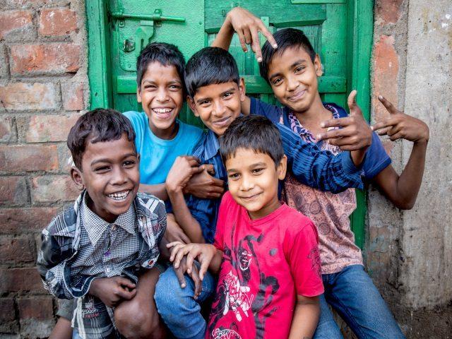 Projektpatenschaft Müllkinder Kalkutta Bhagar Liluah Kinder1