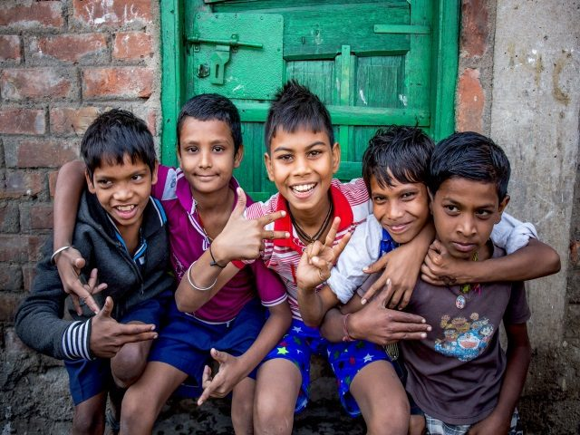 Projektpatenschaft Müllkinder Kalkutta Bhagar Liluah Kinder2
