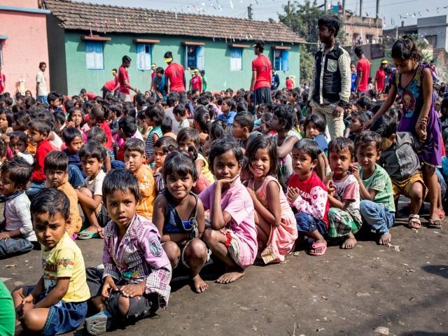 Projektpatenschaft Müllkinder Kalkutta Bhagar Liluah Kinder3