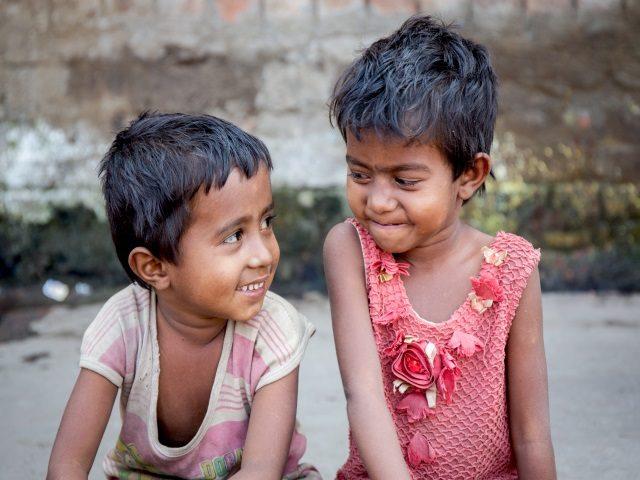 Projektpatenschaft Müllkinder Kalkutta Bhagar Liluah Kinder4