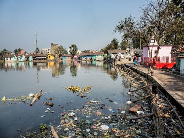Projektpatenschaft Müllkinder Kalkutta Bhagar Liluah See