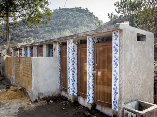 Projektpatenschaft Müllkinder Kalkutta Bhagar Liluah Toiletten