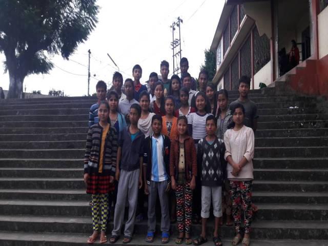 Projektpatenschaft Rachitis Shilong Schüler 1